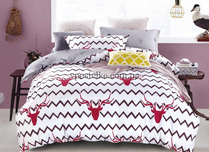 Сатин для постельного белья 240 см «Баратеон» компаньон