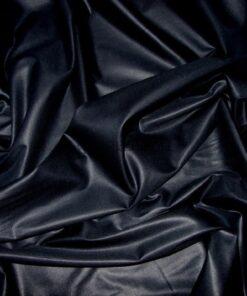 Сатин черного цвета однотонный 250 см
