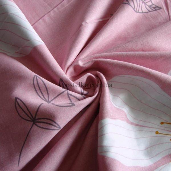 Сатин для постельного белья с ромашками 240 см «Ася» основа
