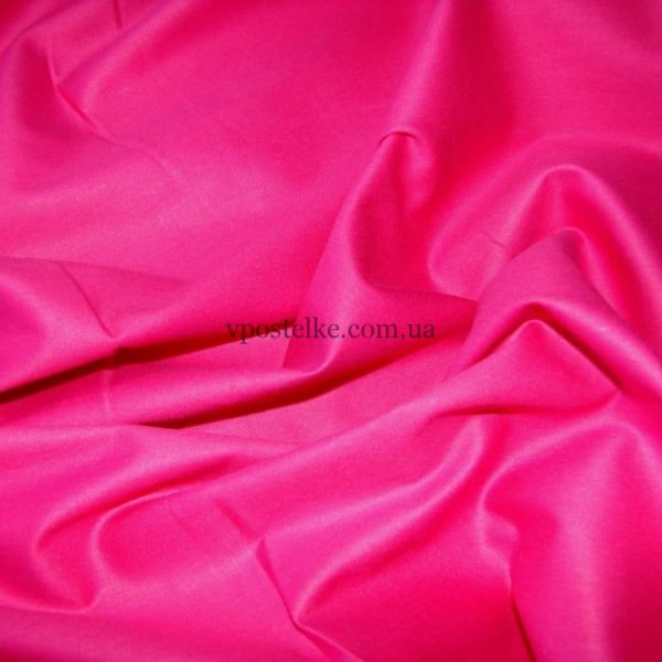 Сатин цвета фуксии однотонный 250 см