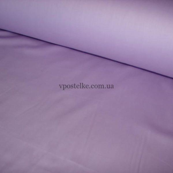 Сатин сиреневого цвета однотонный 250 см