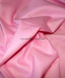 Сатин розового цвета однотонный 250 см