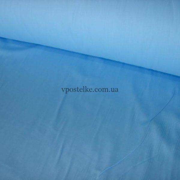 Сатин небесного цвета однотонный 250 см