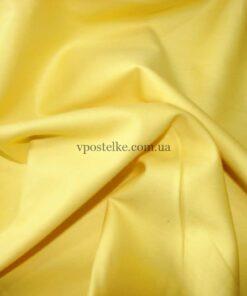 Сатин желтого цвета однотонный 250 см