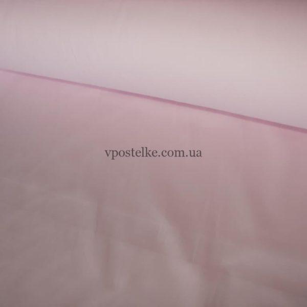 Сатин светло розового цвета однотонный 250 см
