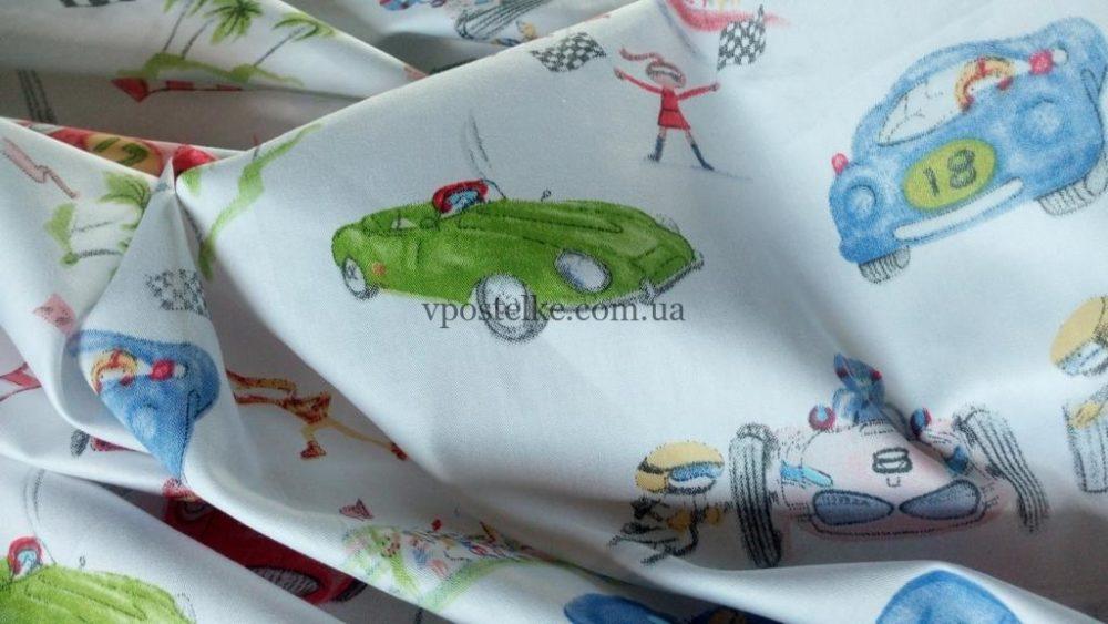 Постельное белье «Автогонки»