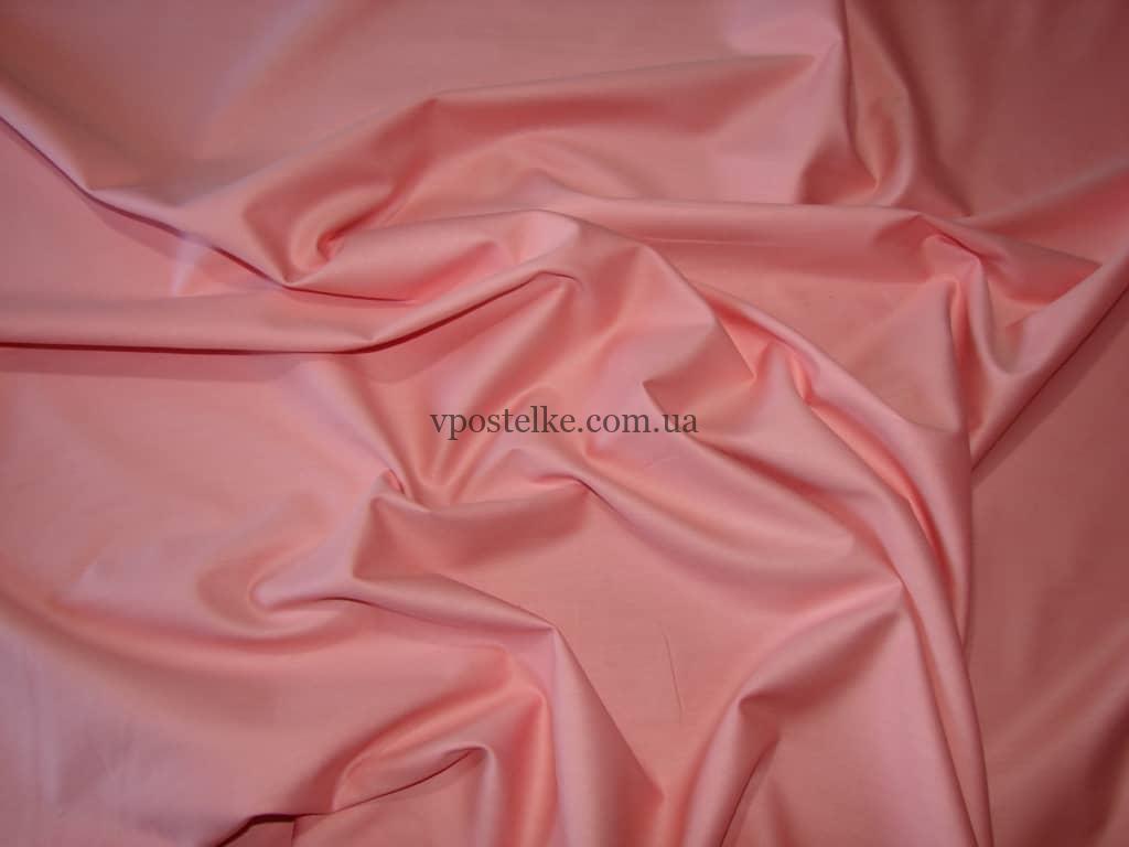 Постельное белье лососевого цвета сатин