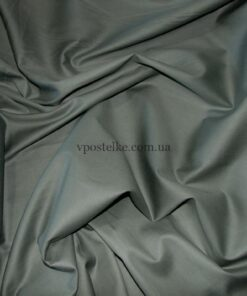 Сатин серого цвета однотонный 250 см