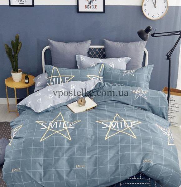 Сатин для постельного белья 240 см «Смайл» компаньон