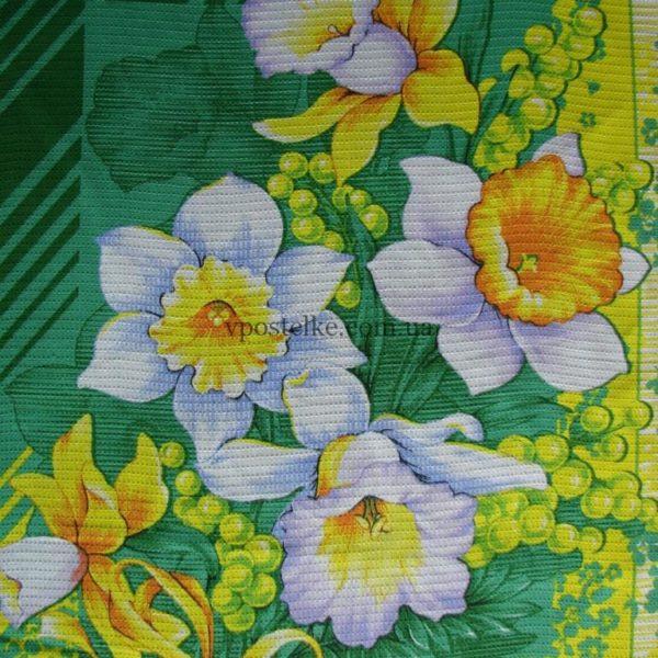Вафельное полотенце Нарцисс 50*60 см