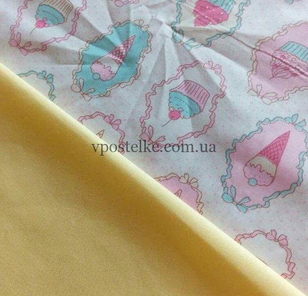 Постельное белье «Капкейки»