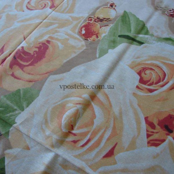 Постельное белье из бязи с розами «Персия»