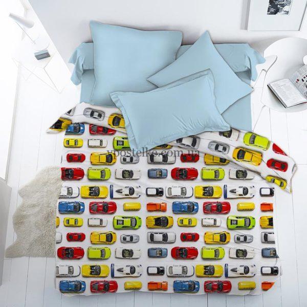 Постельное белье с машинками