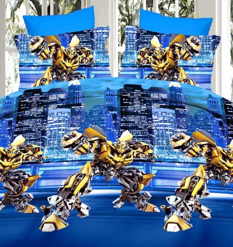 Постельное белье «Бамбл Би, трансформеры»