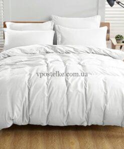 Ткань поплин белого цвета 220 см