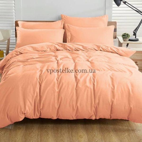 Ткань поплин «Персик» 220 см