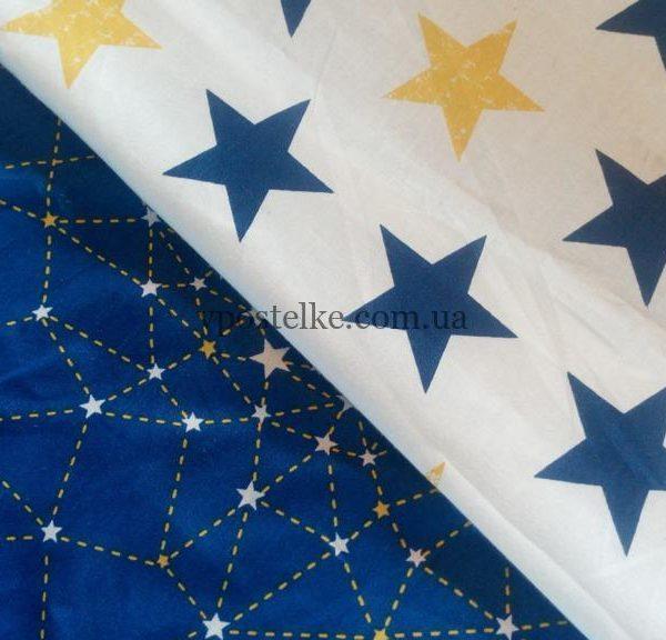 Ткань сатин «Созвездие» компаньон 160 см