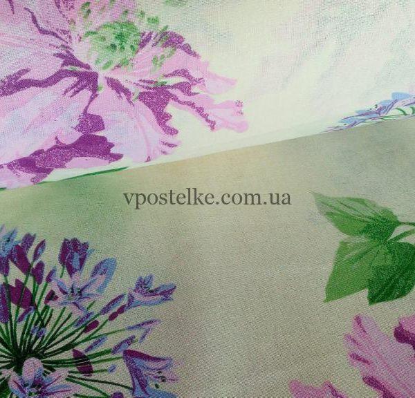 Ткань бязь «Цветочный микс» 220 см