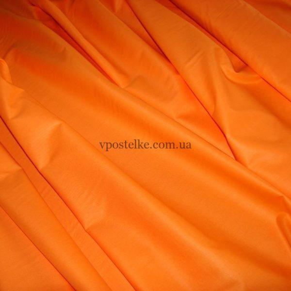 Ткань поплин оранжевый 220 см