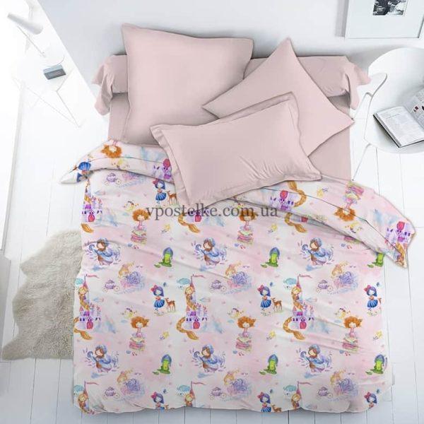 Ткань поплин «Принцессы» 150 см