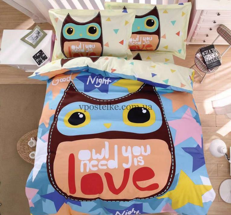 Сатин панель постельное белье для детей CottonTwill «Kids Panel»