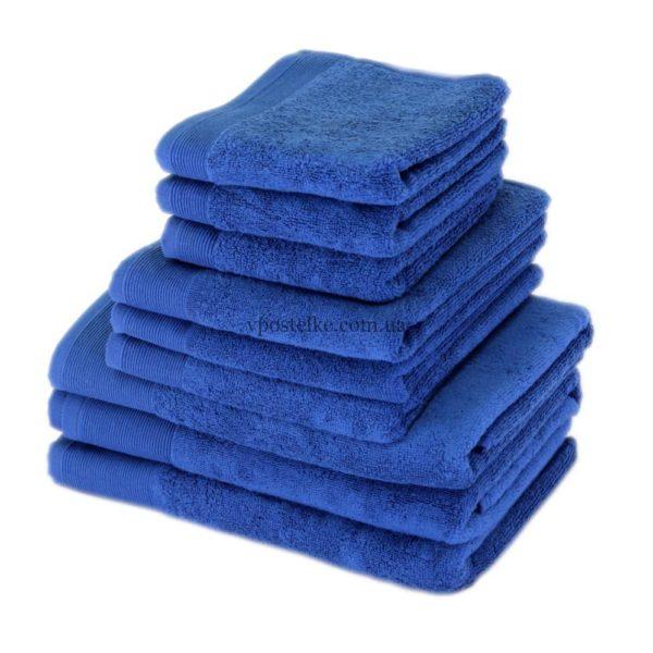 Полотенце махровое «СТАЙЛ (STYLE)» 500 синее
