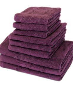 "Полотенце махровое ""СТАЙЛ (STYLE)"" 500 фиолетовый"