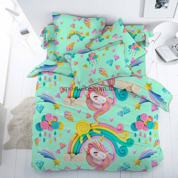 Детское постельное белье поплин Тейково ХБК