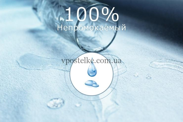 Наматрасник непромокаемый AUQA STOP с фиксацией по периметру