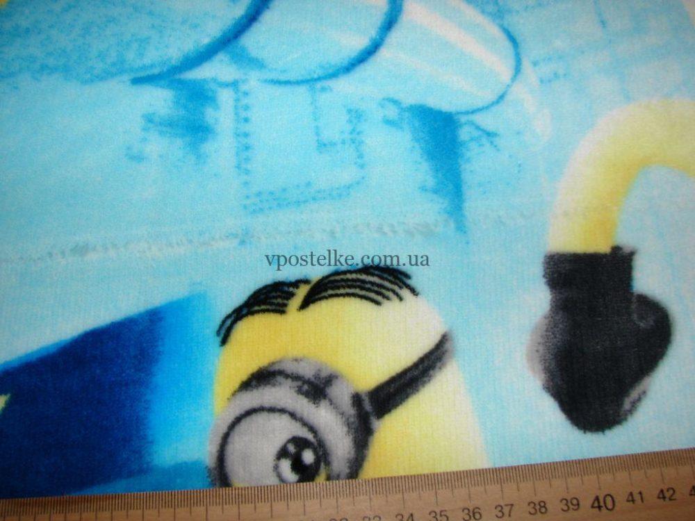 Плед детский Миньоны 150*215 см SALE