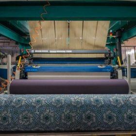 Производство ткани поплин