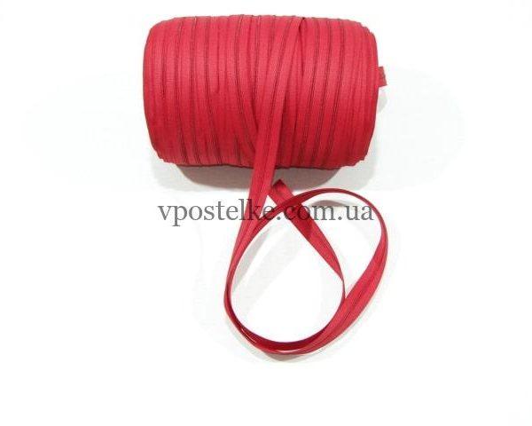 Застёжка-молния спиральная 4 мм красная