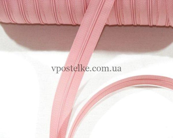Застёжка-молния спиральная 4 мм розовая