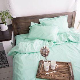 Однотонное постельное белье поплин