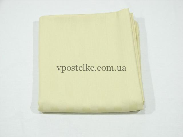 Простыня Молочный страйп сатин 220*250 см