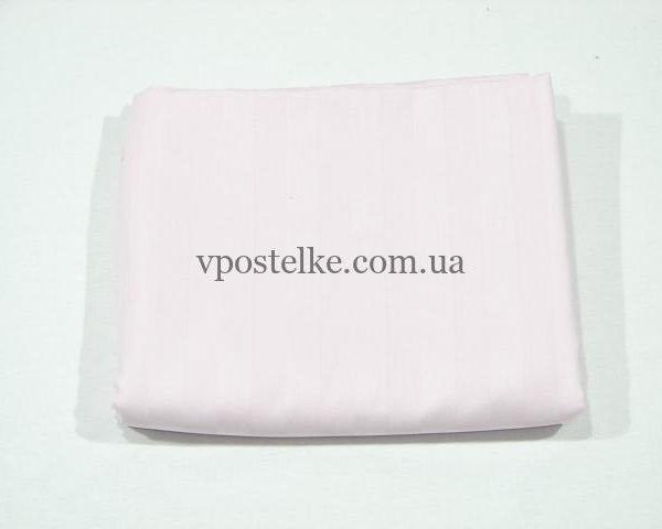 Простыня Розовый страйп сатин 175*217 см