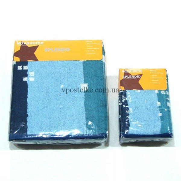 Полотенце махровое Desing F9 квадратики