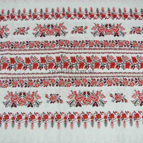 Постельное белье из бязи Украиночка, розы и маки