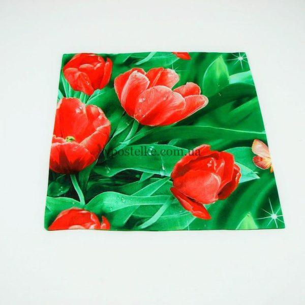 Наволочка Тюльпаны 70*70 см