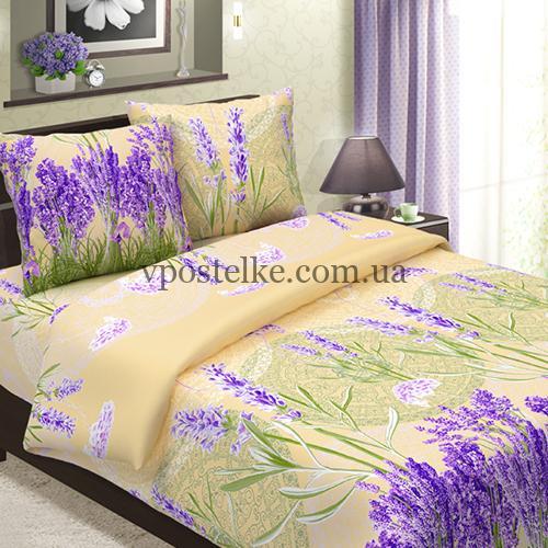 Ткань бязь для постельного белья «Лаванда» 220 см