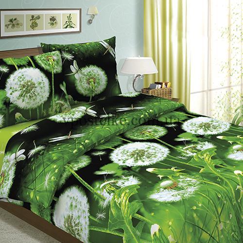Бязь постельная «Одуванчики» компаньон 220 см