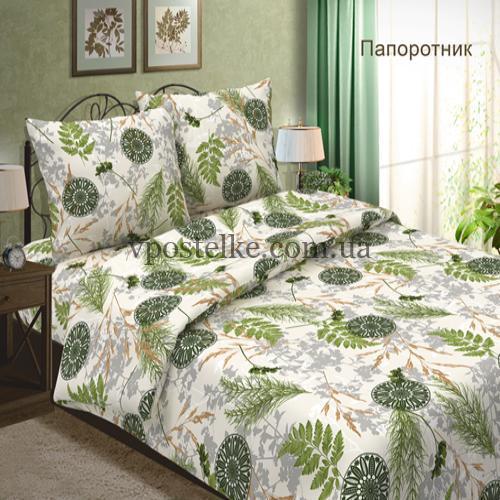 Бязь на постельное белье «Папоротник» 220 см
