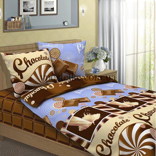 Бязь для постельного белья «Шоколад» основа 220 см