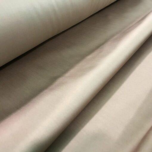Постельное белье из сатина орехового цвета