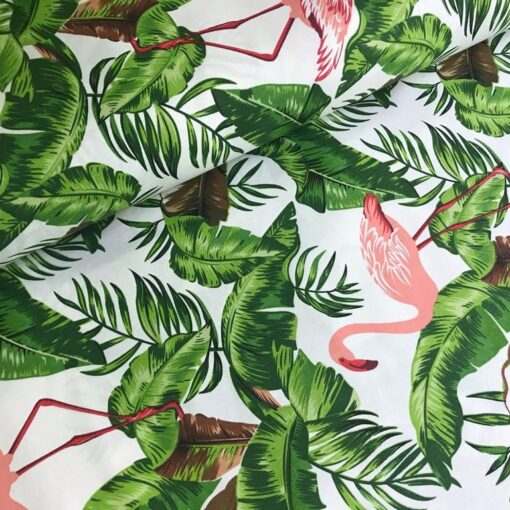Тефлоновая ткань DUCK водоотталкивающая Фламинго